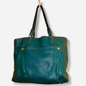 Large COLE HAAN leather tote bag❤️